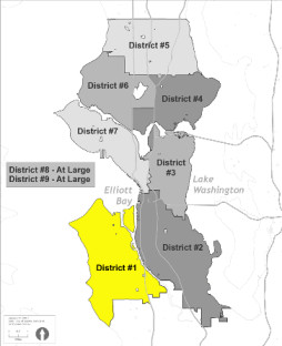 Small Map of District 1