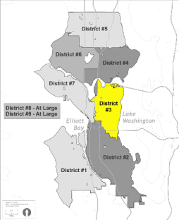 Small Map of District 3