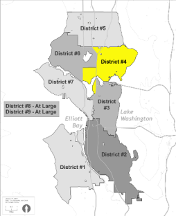 Small Map of District 4