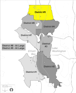 Small Map of District 5