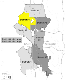 Small Map of District 6
