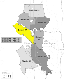 Small Map of District 7